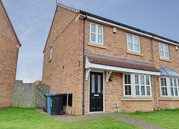 Thumbnail 3 bed semi-detached house to rent in Pools Brook Park, Kingswood, Hull
