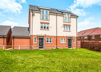 Thumbnail 3 bed semi-detached house for sale in Rosemarie Close, Leavesden, Watford