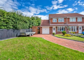 Thumbnail 3 bed semi-detached house for sale in Lintly, Wilnecote, Tamworth