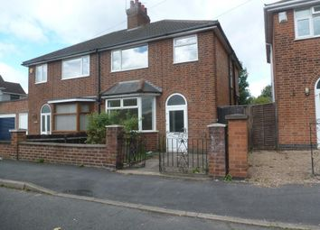 Thumbnail 3 bed property to rent in Grangeway Road, Wigston