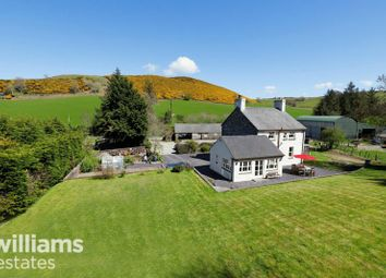 Thumbnail 4 bed detached house for sale in Bylchau, Denbigh
