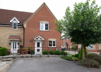 Thumbnail 3 bed town house for sale in Boothby Close, Kirton, Boston