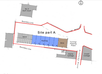 Thumbnail Land for sale in Academy Road, Crieff