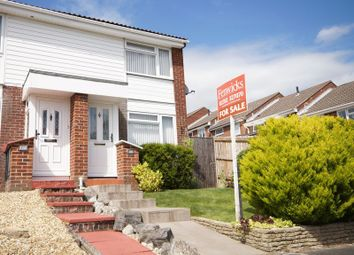 Thumbnail 2 bed end terrace house for sale in Dore Avenue, Portchester, Fareham