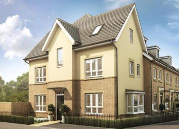 "Thumbnail 4 bed detached house for sale in ""Hexley"" at Knights Way, St. Ives, Huntingdon"