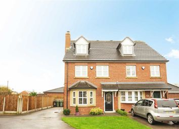 Thumbnail 4 bed semi-detached house for sale in Hawkhurst Park, Leigh, Lancashire