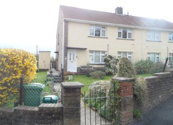 Thumbnail 2 bed flat to rent in Heol Y Mynydd, Aberdare