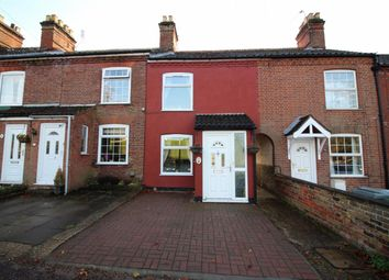 Thumbnail 2 bed terraced house for sale in Drayton High Road, Drayton, Norwich