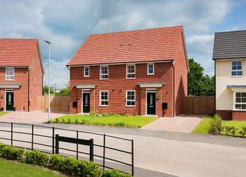 "Thumbnail 3 bedroom semi-detached house for sale in ""Folkestone"" at Lightfoot Lane, Fulwood, Preston"