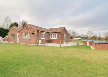 Thumbnail 3 bed detached bungalow for sale in Turbary, Epworth, Doncaster