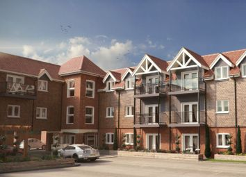 Thumbnail 2 bed flat for sale in Connaught Road, Brookwood, Woking