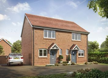 Thumbnail 2 bed semi-detached house for sale in The Green, Ullesthorpe, Lutterworth