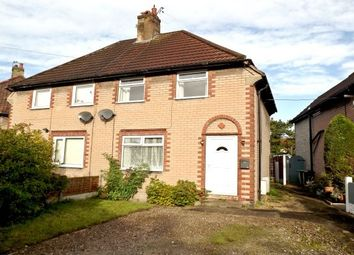 Thumbnail 2 bed semi-detached house to rent in Rudheath, Northwich