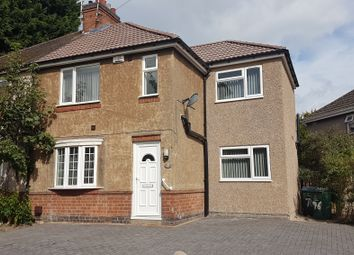 Thumbnail 8 bed semi-detached house to rent in Gerard Avenue, Canley, Coventry