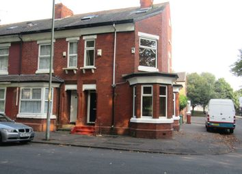 Thumbnail 3 bed end terrace house to rent in Smalldale Avenue, Whalley Range, Manchester