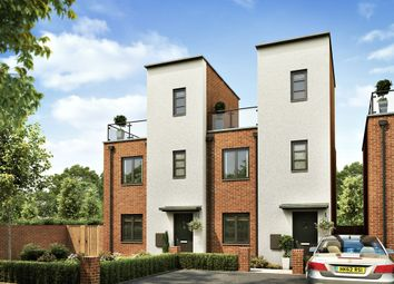 "Thumbnail 2 bedroom town house for sale in ""The Upton"" at Balmoral Close, Northampton"