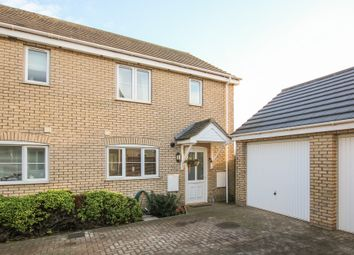 Thumbnail 4 bed semi-detached house for sale in Summerfield Close, Burwell