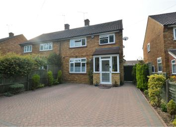 Thumbnail 3 bed semi-detached house for sale in Rayleigh Road, Brentwood