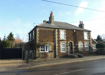 Thumbnail 3 bed detached house for sale in West Way, Wimbotsham, King's Lynn