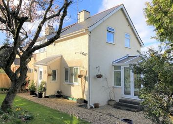 Thumbnail 3 bed semi-detached house for sale in Hale Lane, Honiton