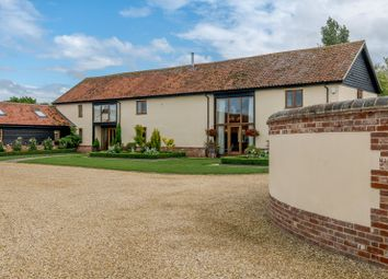 Thumbnail 5 bed barn conversion for sale in Caston Road, Caston, Attleborough, Norfolk