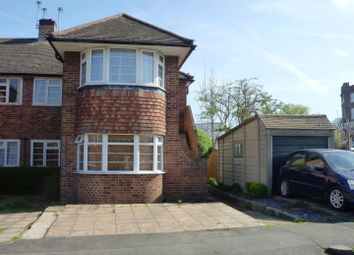 Thumbnail 2 bed maisonette for sale in Welbeck Close, Ewell, Epsom