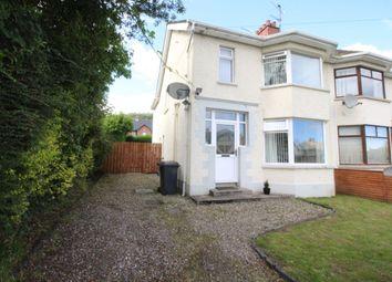 Thumbnail 3 bed semi-detached house for sale in Goldenview Park, Greenisland, Carrickfergus