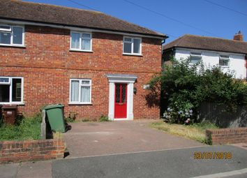 Thumbnail 3 bed semi-detached house to rent in Court Road, Hampden Park Eastbourne
