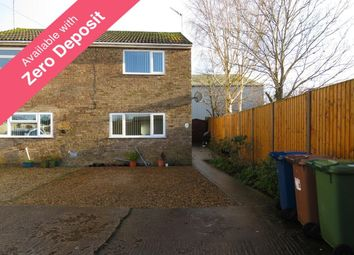 Thumbnail 2 bedroom semi-detached house to rent in Ash Tree Close, Wimblington, March