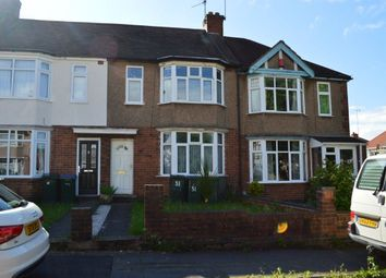 Thumbnail 3 bed terraced house to rent in Leyland Road, Coventry