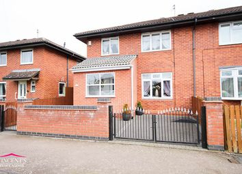 Thumbnail 3 bed semi-detached house for sale in Audley End, Lecester