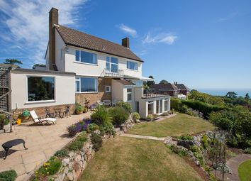 Thumbnail 4 bed detached house for sale in Watcombe Heights Road, Torquay