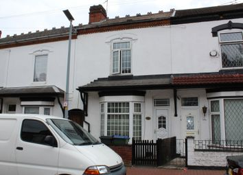 Thumbnail 3 bed terraced house to rent in Rosebery Road, Smethwick