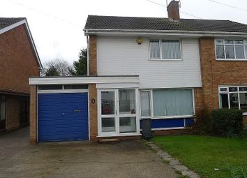 Thumbnail 3 bed property to rent in Firsvale Road, Wednesfield, Wolverhampton
