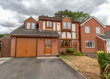 Thumbnail 4 bed detached house for sale in Falconers Green, Burbage