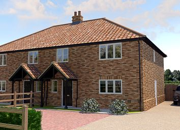 Thumbnail 4 bed semi-detached house for sale in Mill Road, Terrington St. John, Wisbech