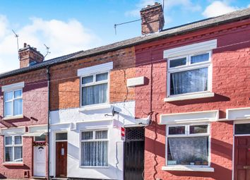 Thumbnail 2 bedroom terraced house for sale in Cottesmore Road, Leicester