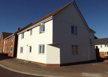 Thumbnail 2 bed flat to rent in Hakewill Way, Colchester