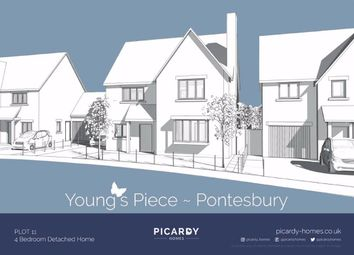 Thumbnail 4 bed detached house for sale in Young's Piece, Pontesbury, Shrewsbury