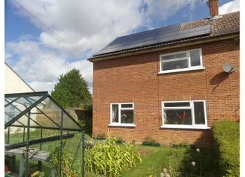 Thumbnail 3 bed end terrace house for sale in The Green, Saxtead