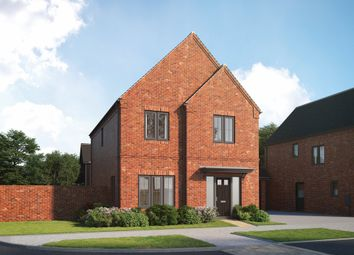 """Thumbnail 4 bedroom detached house for sale in """"Larfield"""" at Old Wokingham Road, Crowthorne"""