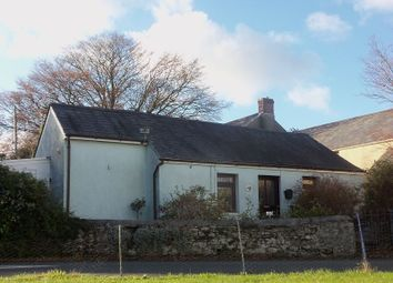 Thumbnail 2 bed detached bungalow for sale in Llanybri, Carmarthen, Carmarthenshire.