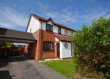 Thumbnail 2 bed semi-detached house to rent in Rydal Close, Little Neston, Wirral