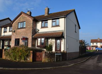 Thumbnail 3 bed end terrace house for sale in Bush Road, Spaxton, Bridgwater