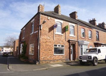 Thumbnail 3 bedroom end terrace house for sale in Grey Street, Bishop Auckland