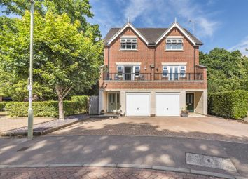 Thumbnail 4 bed town house for sale in Elder Crescent, Lindford, Bordon