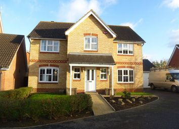 Thumbnail 4 bed detached house to rent in Kestrel Close, Kingsnorth, Ashford
