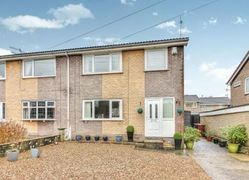 Thumbnail 3 bed semi-detached house for sale in Andelen Close, Hapton, Burnley, Lancashire