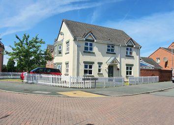 Thumbnail 4 bed detached house for sale in Lavender Gardens, Saxon Park, Warrington