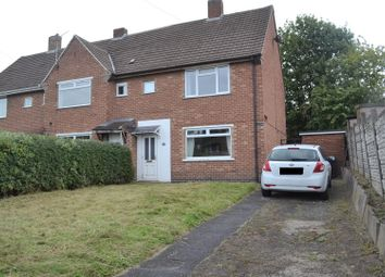 Thumbnail 2 bed semi-detached house for sale in Elmsleigh Drive, Midway, Swadlincote
